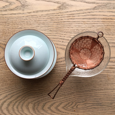 Copper Tea Filter
