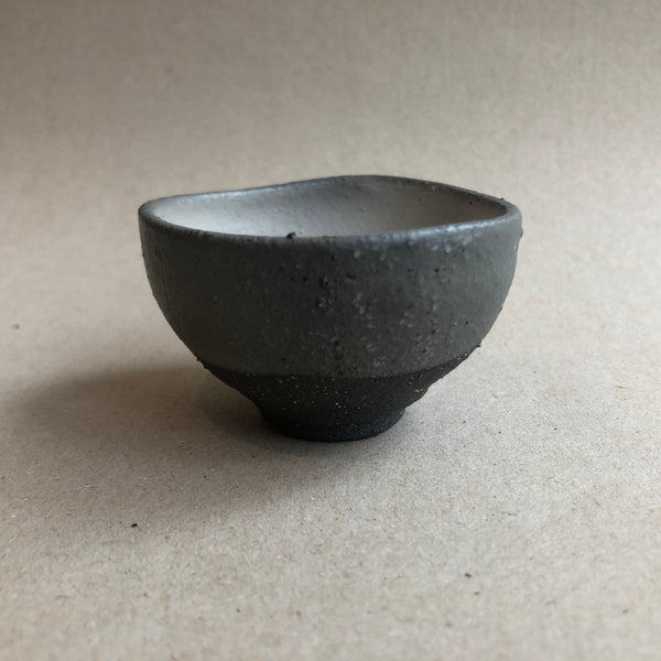 Hong Seong-Il - Brown Cup with white glaze