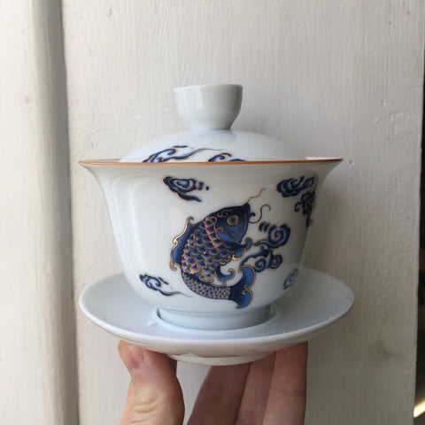 Blue Fish Gaiwan 150ml
