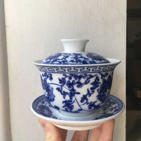 Blue Flower Gaiwan 140ml