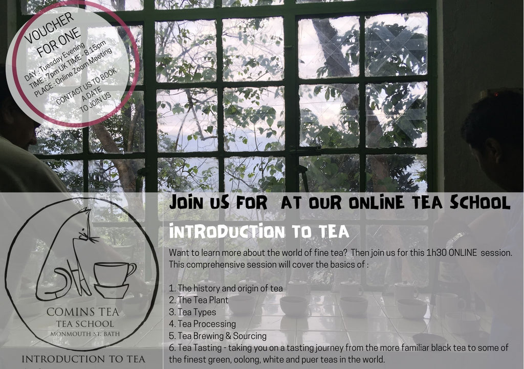 Voucher for Tea School 'INTRODUCTION TO TEA""