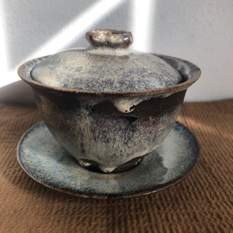 Nuka glaze gaiwan [Seong Il Hong : Boseong, South Korea ] : 135ml