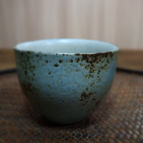 Yangyang Li Jingdezhen plain painted pottery teacup