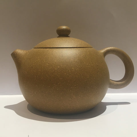 Duan Ni [Yellow] Yixing Teapot [Partially Handmade]