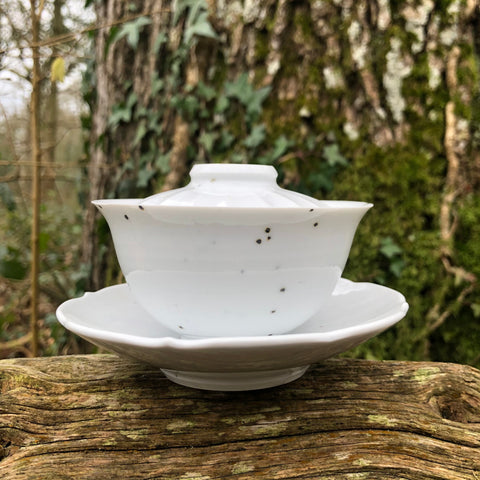 100ml porcelain spot gaiwan [Seong Il Hong : Boseong, South Korea ]