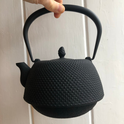 Japanese Cast Iron KETTLE BLACK [IWACHU]