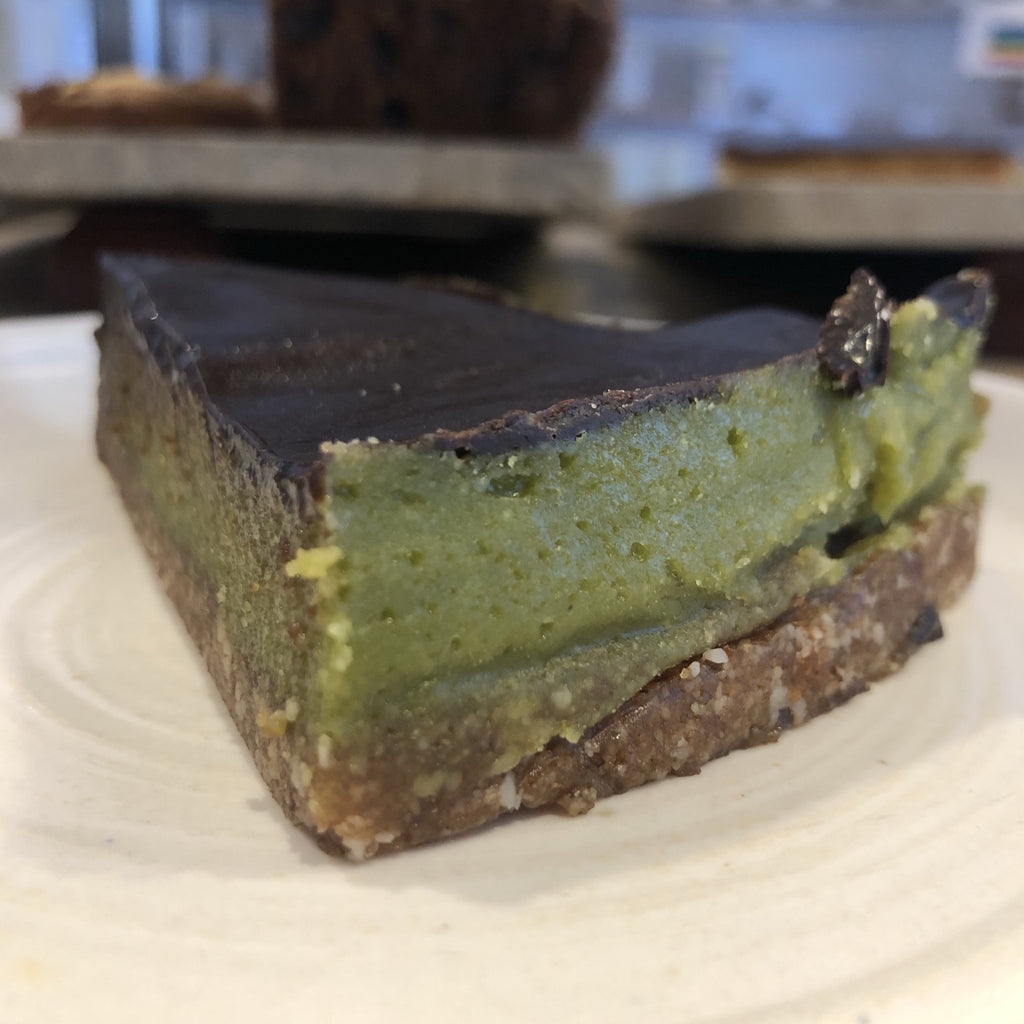TO COLLECT : SLICE OF VEGAN Matcha Cheesecake [To collect]
