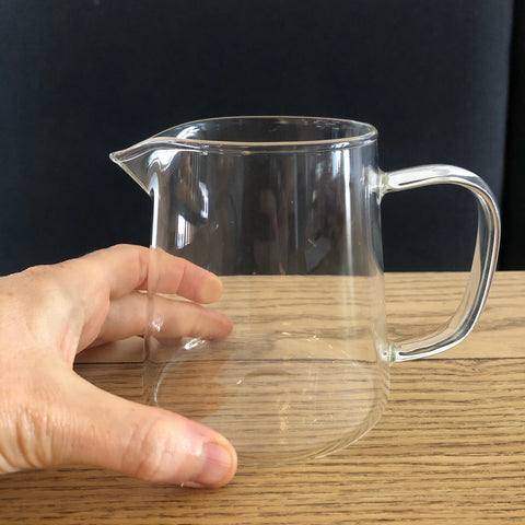 Handle Glass Serving Jug 400ml