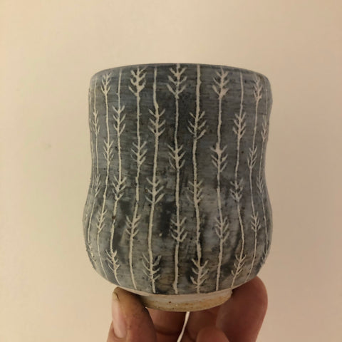 Yo Thom Yuonomi Cup (Stripe Wheat Pattern)