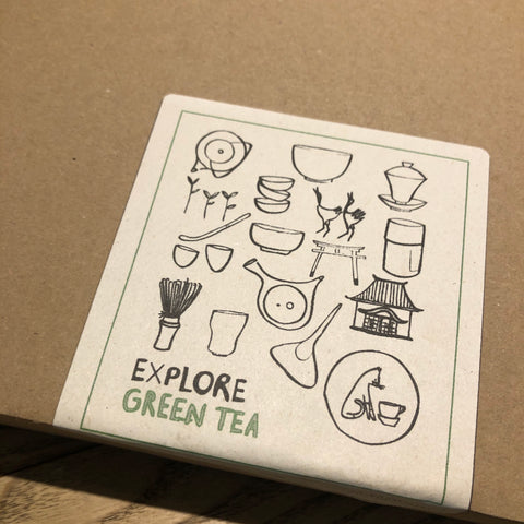 EXPLORE Green Tea [3 green tea gift box]