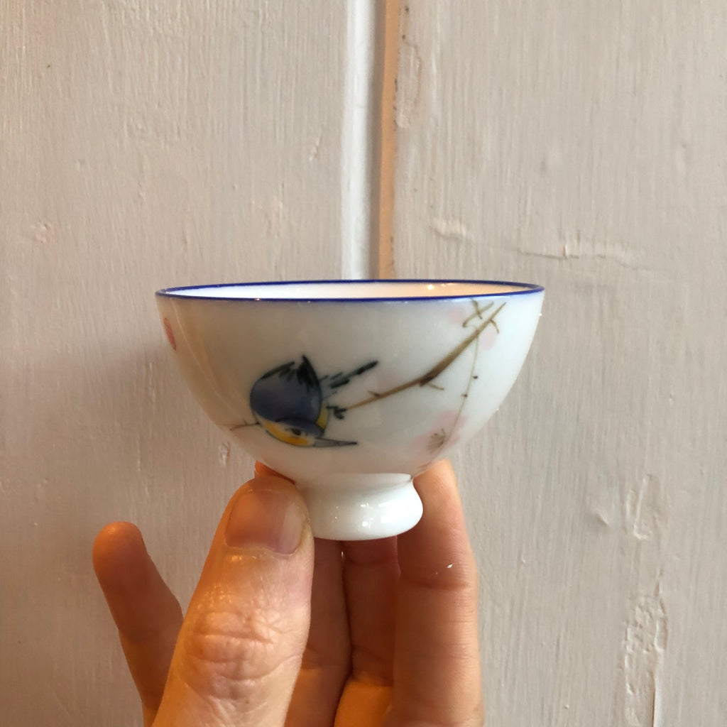 Blue Bird Sipping Cup