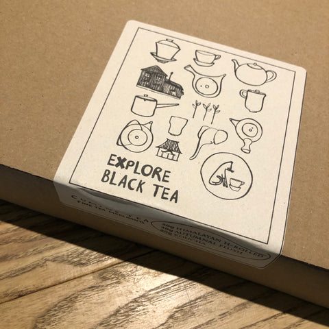 EXPLORE Black Tea [3 tea gift box]