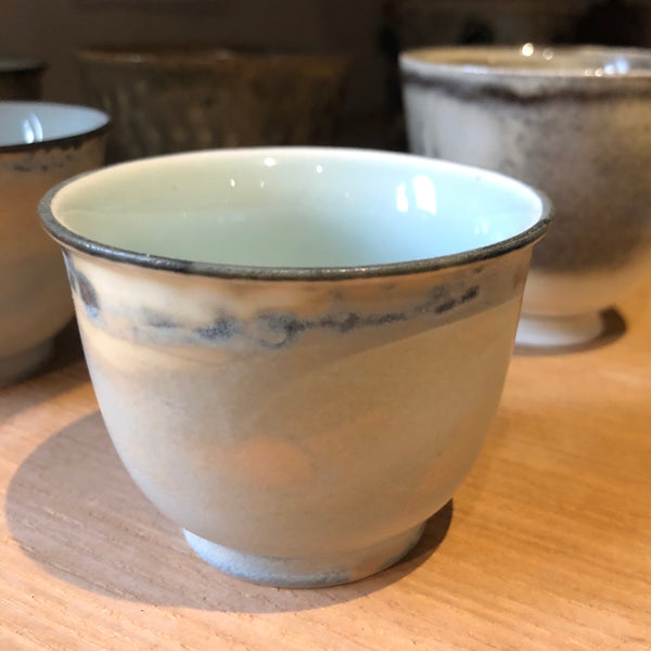 Hand Thrown Yellow Ash Tea Cup 65ml  | Yangyang Li Jingdezhen