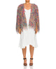 Brielle Fringe Cape