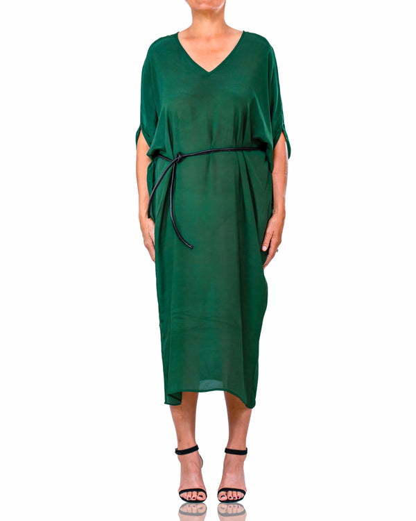 Audrey Forest Green Dress