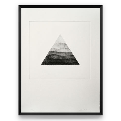 Photogravure print - Triangular Horizon