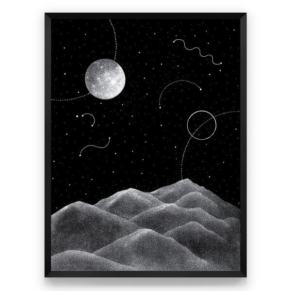Joyful Night - Art print