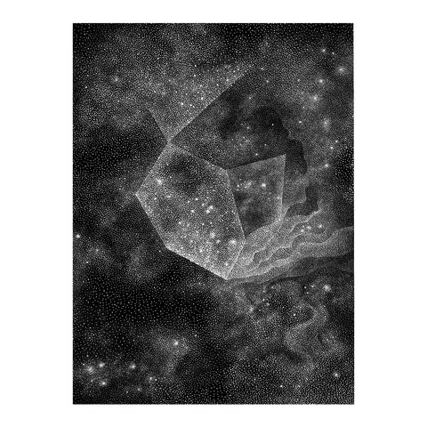 Nebula Nr.2 - Original drawing