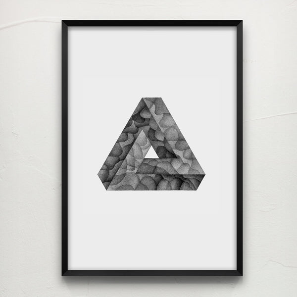 Impossible Triangle - Original Drawing