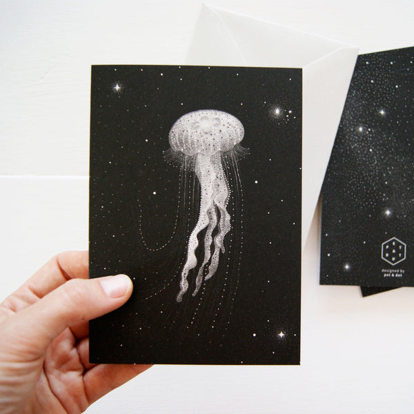 Greeting card - Galactic Jellyfish