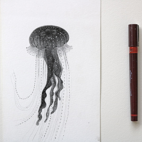 Jellyfish - Original drawing
