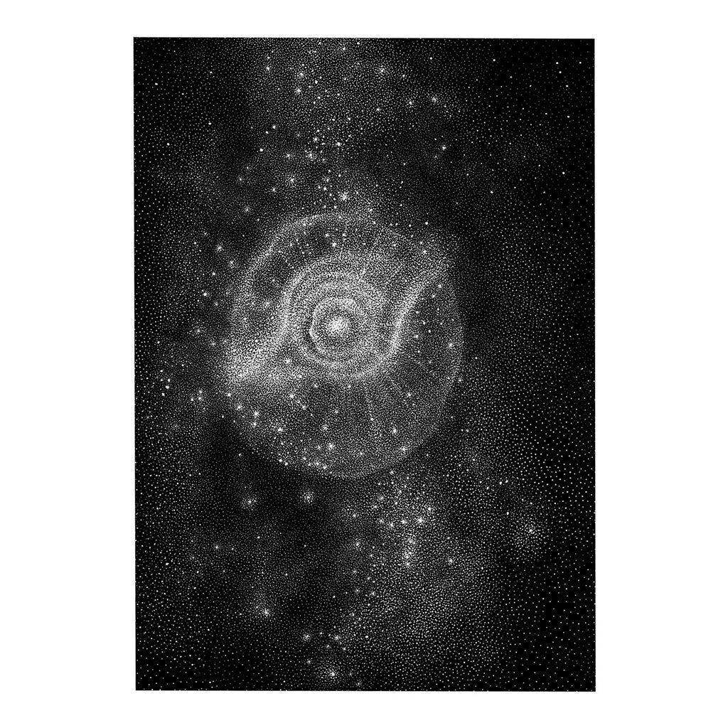 Nebula Nr. 3 - Original drawing
