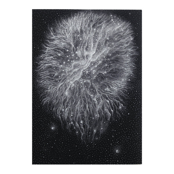 Nebula Nr. 4 - Original drawing
