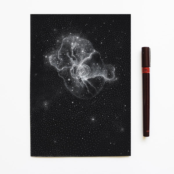 Nebula Nr. 6 - Original drawing