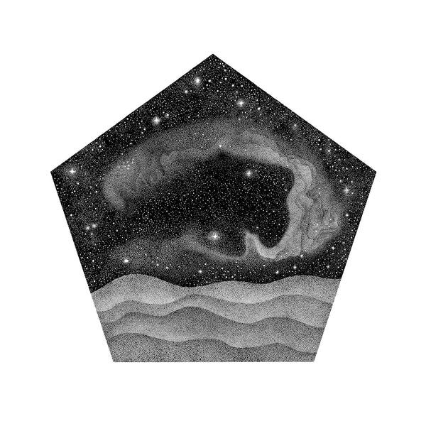 Pentagonal Galaxy - Original Drawing