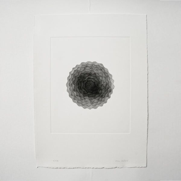 Photogravure print - Waves of Possibilities