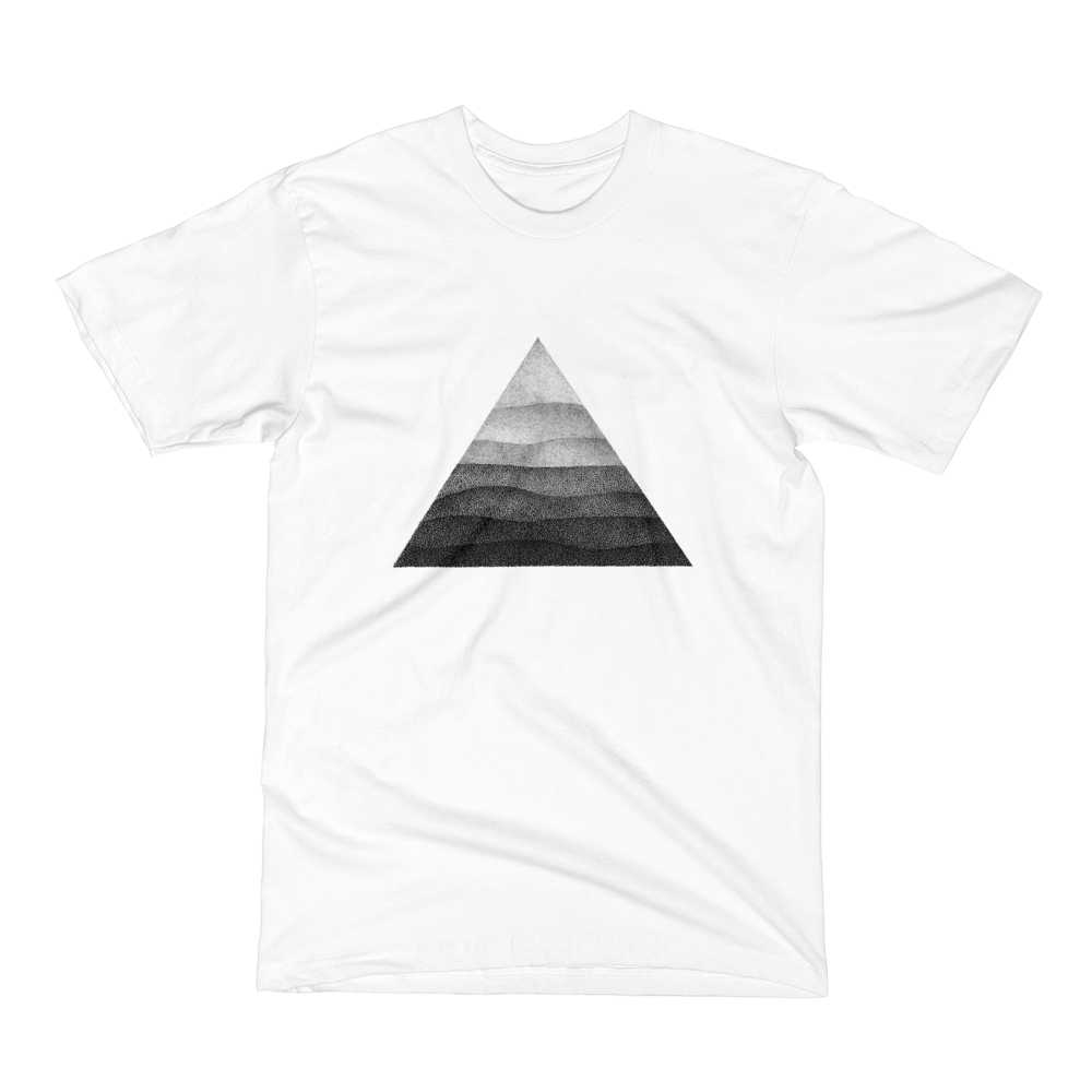 Unisex Short Sleeve T-Shirt - Triangle