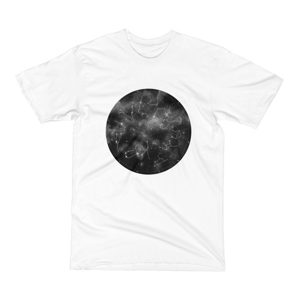 Unisex Short Sleeve T-Shirt - Zodiac Wheel
