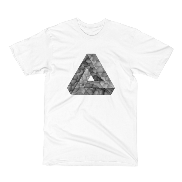 Unisex Short Sleeve T-Shirt - Infinite Triangle