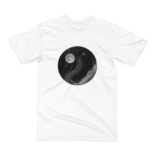 Unisex Short Sleeve T-Shirt - Hello, Moon!
