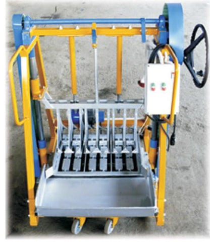HR01 Semi Automatic Concrete Block Maker. (Made to order only)