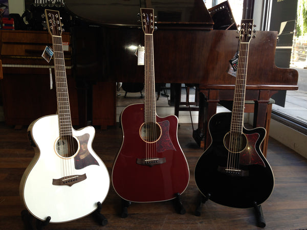 NEW Tanglewood Winterleaf TW4 and TW5 Electro Acoustic Guitars!