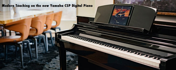 Free Lessons! Modern Teaching On The Yamaha CSP