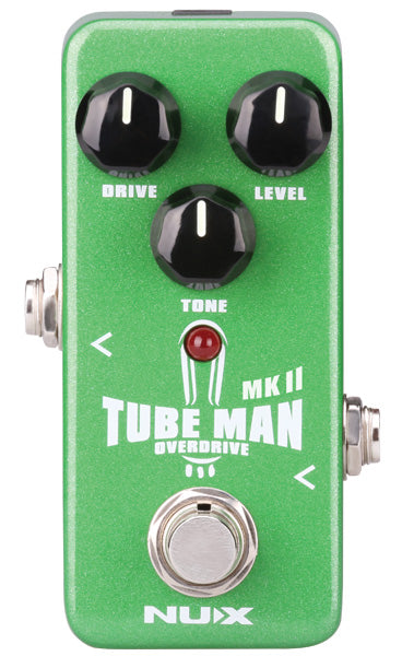 NUX Tube Man MKII Overdrive Pedal – Gough & Davy