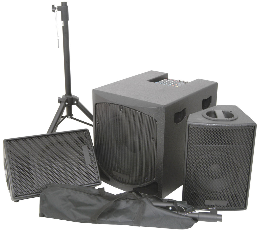 QTX QL SERIES ACTIVE 2.1 PA System 1200w