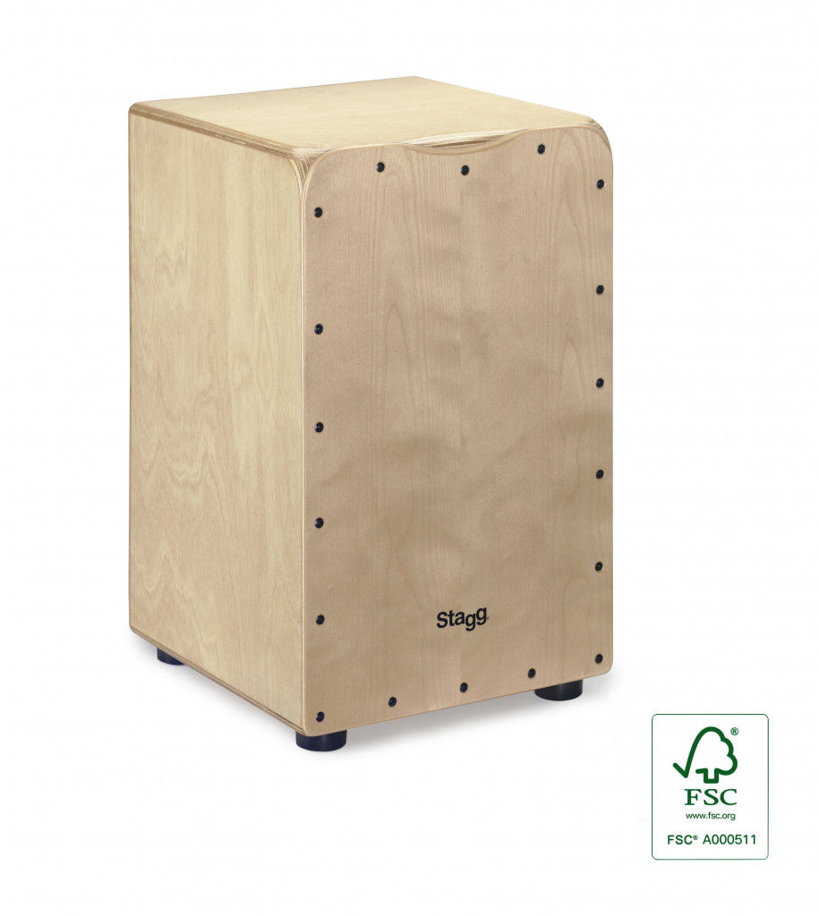 Stagg Medium Cajon With Bag - Various Colours