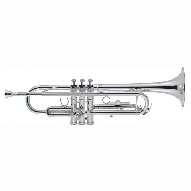 J. Michael 'Silver Plated' Trumpet Outfit