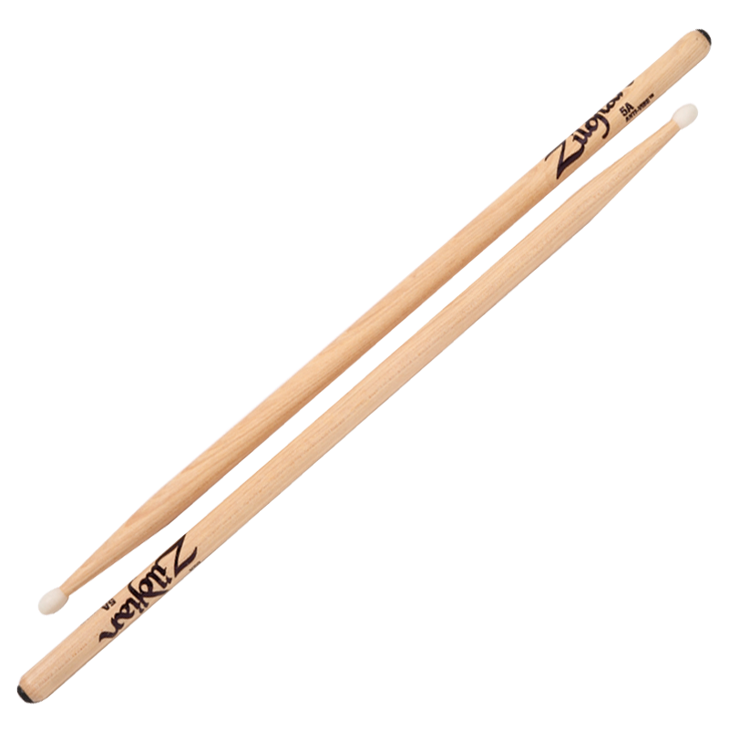 5A NYLON ANTI-VIBE DRUMSTICKS 6 PAIR