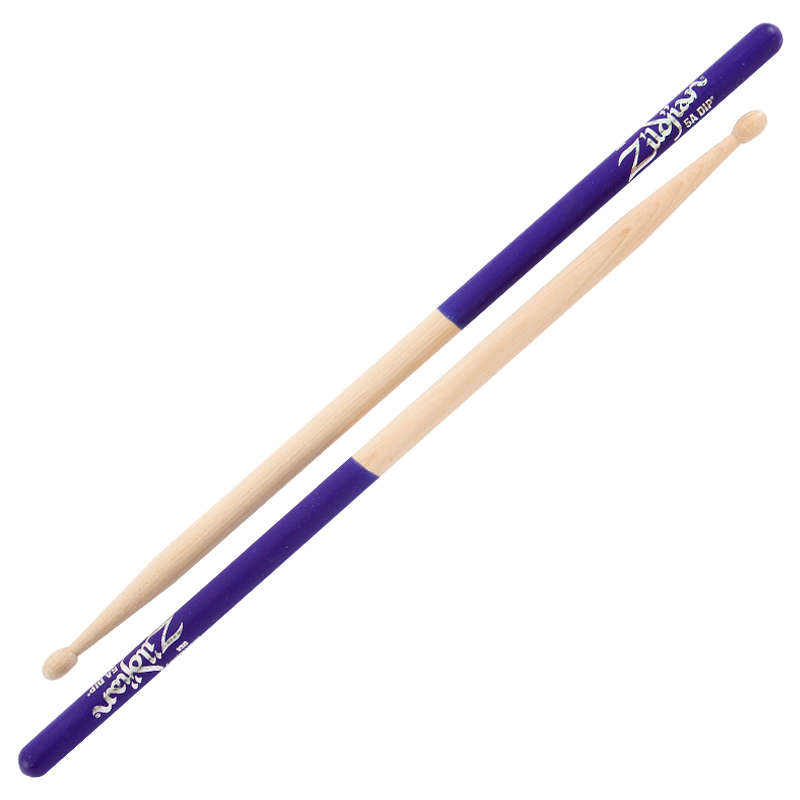 5A WOOD PURPLE DIP 6 PAIR
