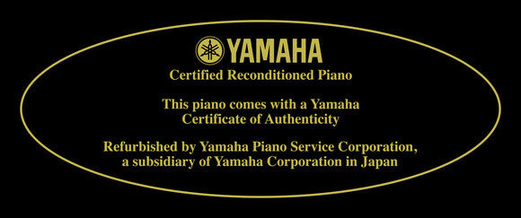 Yamaha Workshop Reconditioned U3 Professional Upright Acoustic Piano