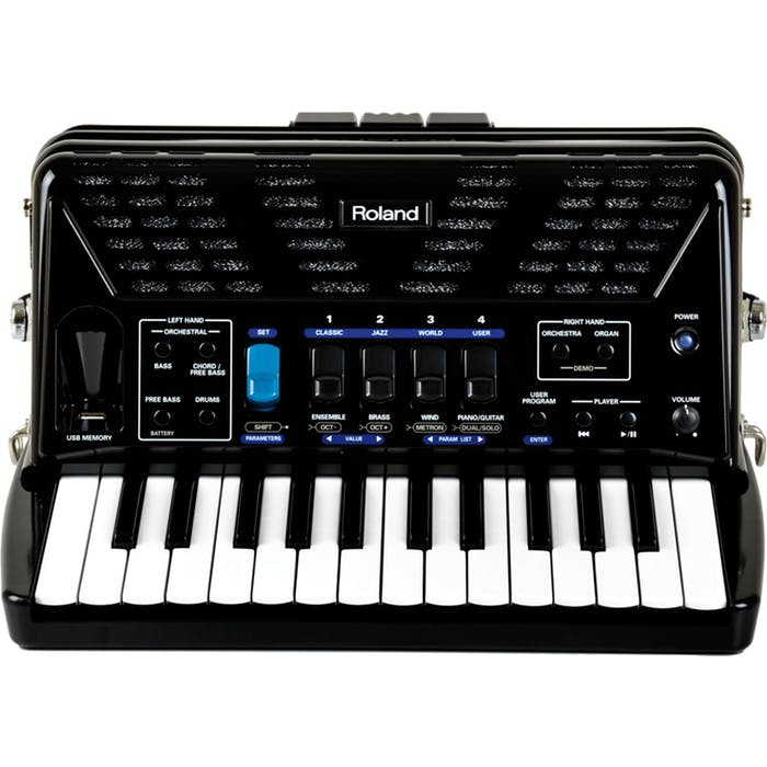 Roland FR-1x V-Accordion Piano Type in Black