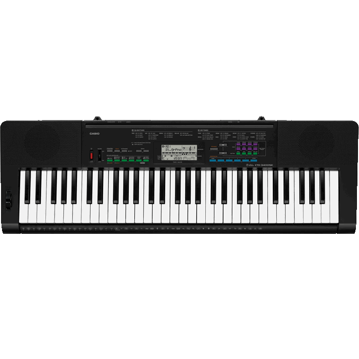 Casio CTK3400 Digital Keyboard