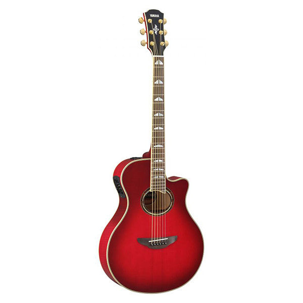 Yamaha APX1000 Electro-Acoustic Guitar in Crimson Red Burst