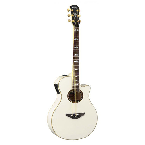 Yamaha APX1000 Electro-Acoustic Guitar in Pearl White