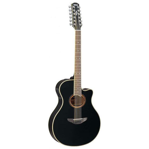 Yamaha APX700ii 12-String Electro-Acoustic Guitar in Black