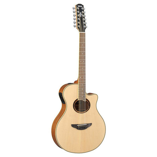 Yamaha APX700ii 12-String Electro-Acoustic Guitar in Natural